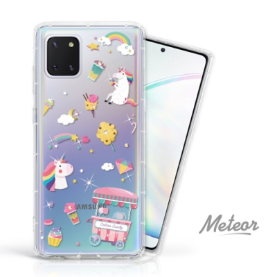 Meteor Samsung Galaxy Note 10 Lite 奧地利水鑽殼 - 棉花糖獨角獸