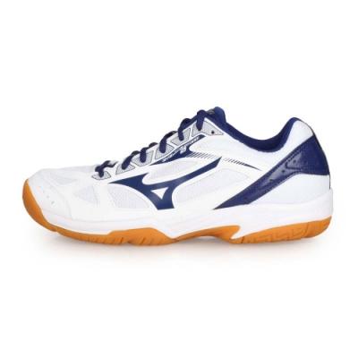 MIZUNO 男女 排球鞋 CYCLONE SPEED 2 白丈青