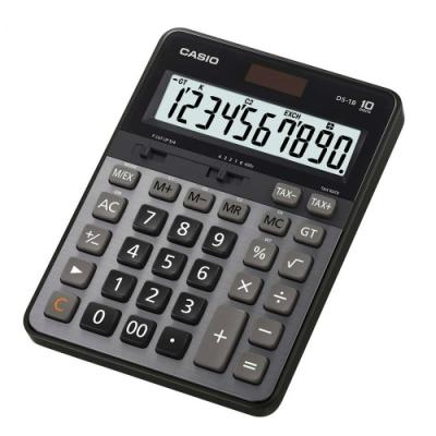 CASIO卡西歐-10位數雙電源頂級商用計算機(DS-1B)