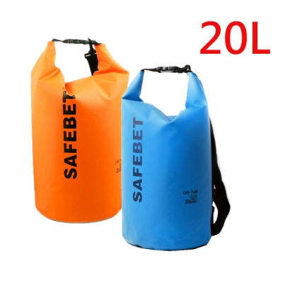E.City_10L手提單肩防水圓筒包-素色款