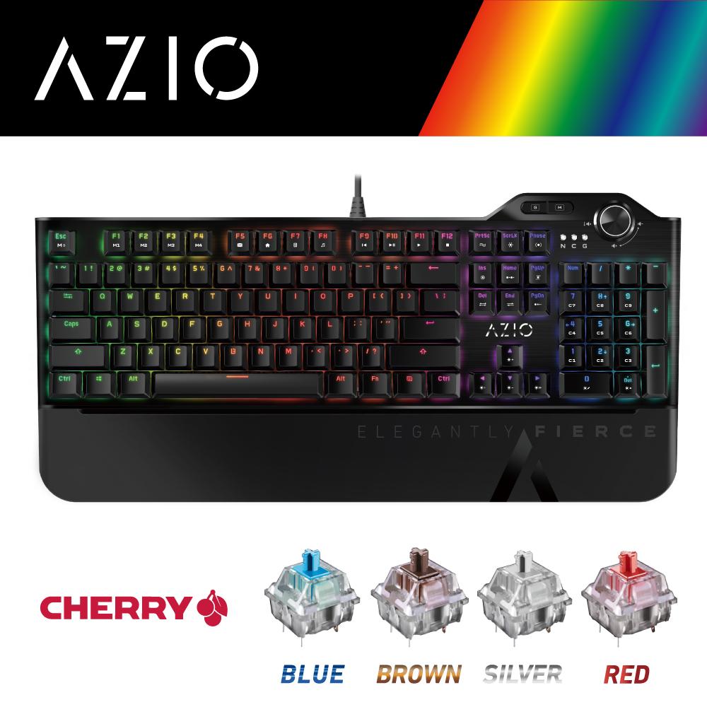 MGK L80 MAX RGB機械式電競鍵盤-CHERRY/全彩/中文
