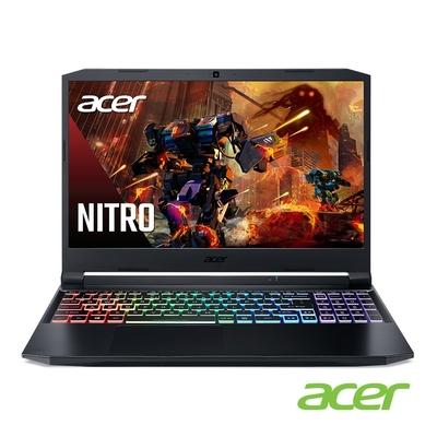 Acer AN515-57-791E 特仕版 15吋電競筆電(i7-11800H/RTX3050/8G+16G/512G SSD+1TB HDD/Nitro 5/黑)