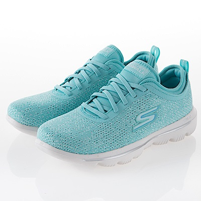 SKECHERS 女 健走GO WALK EVOLUTION-15736TURQ