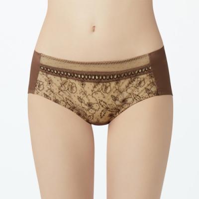 瑪登瑪朵 無比集中 低腰平口內褲(享樂棕)