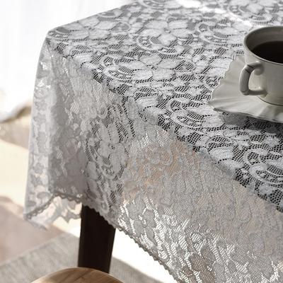 韓國製大花蕾絲邊桌巾