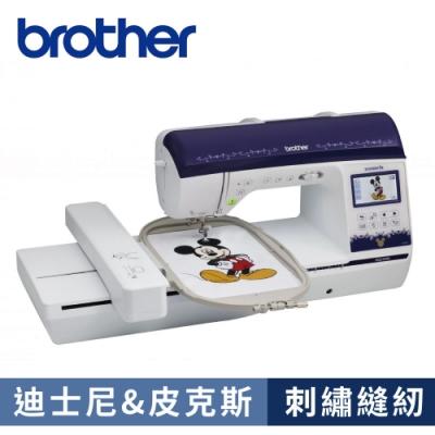 日本brother 迪士尼之星電腦型刺繡縫紉機 NQ-3500D