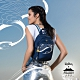Kipling X 永樂宮聯名系列深藍底雲間盛境拉鍊式小巧收納後背包-DELIA MINI product thumbnail 2