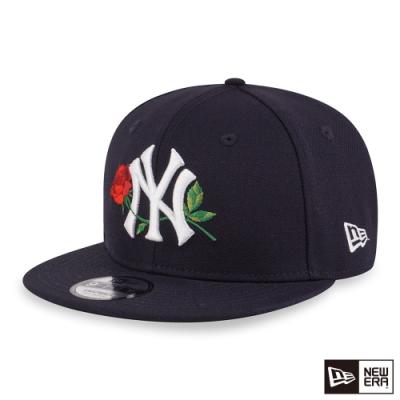 NEW ERA 9FIFTY 950 洋基玫瑰 深藍 棒球帽