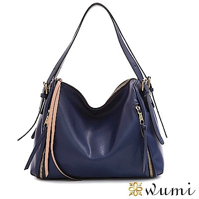 WuMi 無米 夏綠蒂率性流蘇包 紫羅藍(快)