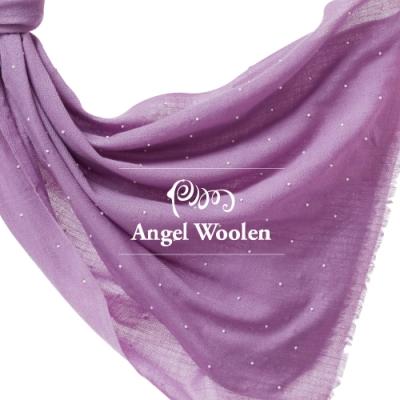 【ANGEL WOOLEN】月亮寶石CASHMERE印度手工釘珠披肩(共三色)
