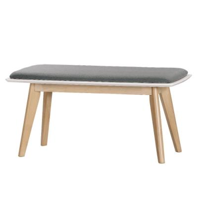 MUNA 妮克絲長板凳(實木) 100X44X48cm