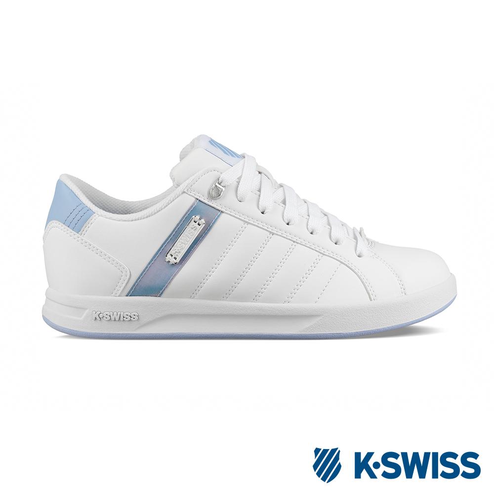 K-SWISS Lundahl WT S休閒運動鞋-女-白/粉藍