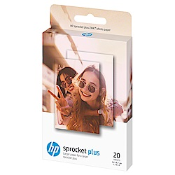 HP Sprocket plus Zink 2.3x3.4 20張 原廠相紙(2盒)