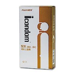FUJI-NEO ICONDOM 艾康頓 精采三重奏 衛生套 保險套 12入