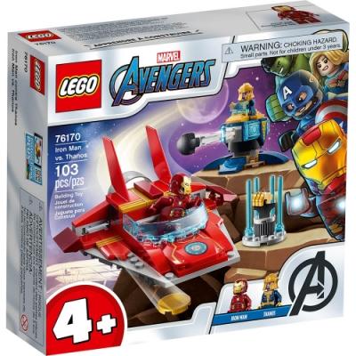 樂高LEGO 超級英雄系列 - LT76170 Iron Man vs. Thanos