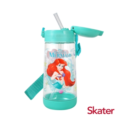 Skater PET吸管水壺(480ml) 小美人魚