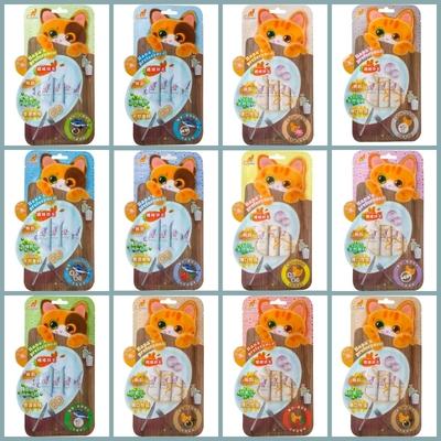 【12入組】CAT FEET哈娜最愛好吃肉泥化毛系列-多種款式-15公克(4入) (購買第二件贈送寵鮮食零食1包)