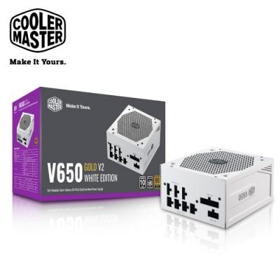 Cooler Master V650 Gold V2 White Edition 650W 電源供應器 白色版