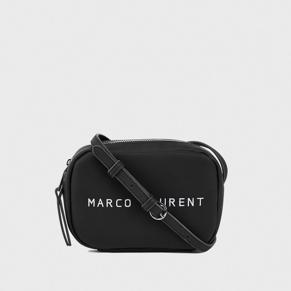 MARCO LAURENT Ice Cream 迷你刺繡肩背包 - 黑色