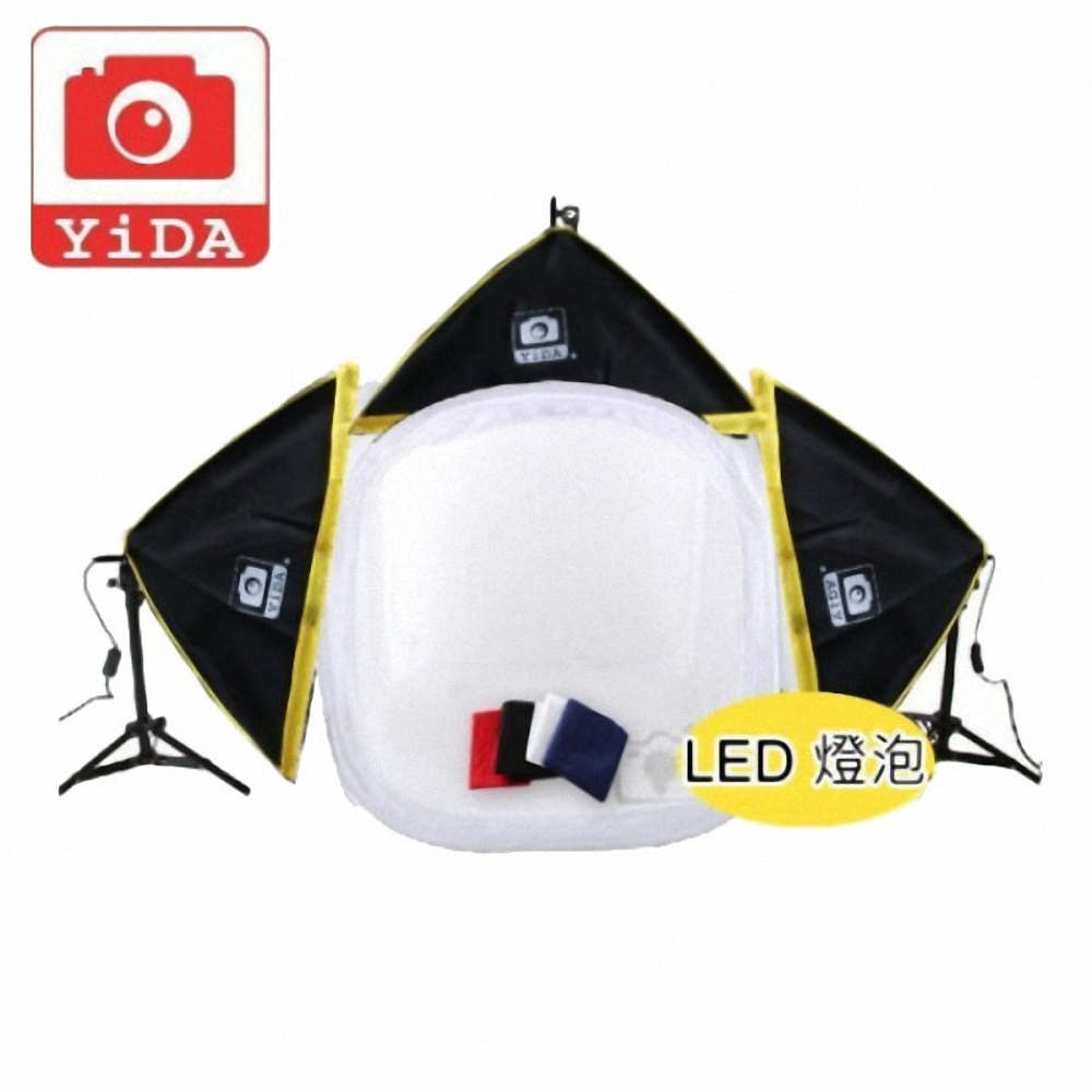 YIDA 新型80cm攝影棚三燈組