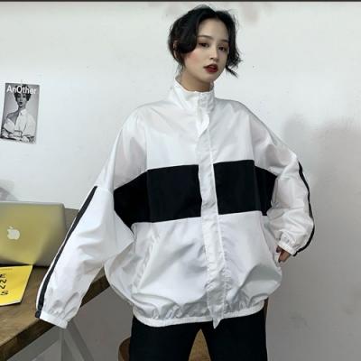 【韓國K.W.】明星款都會休閒印花外套-2色