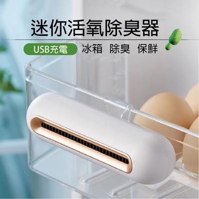 迷你活氧除臭器 USB充電 【C040008】 除臭劑 冰箱除臭 臭氧 活氧