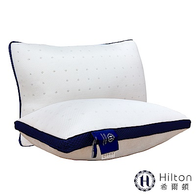 Hilton 希爾頓 五星級御用 6D透氣舒柔乳膠枕1入