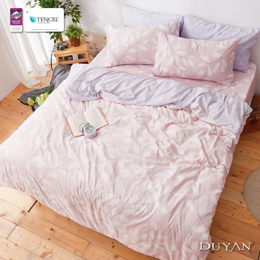 (限時下殺)DUYAN竹漾-3M吸濕排汗天絲-雙人床包被套組-多款任選