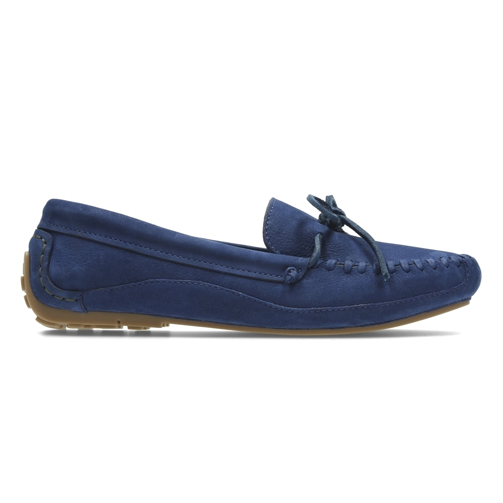 Clarks Natala Rio 女 休閒鞋 藍