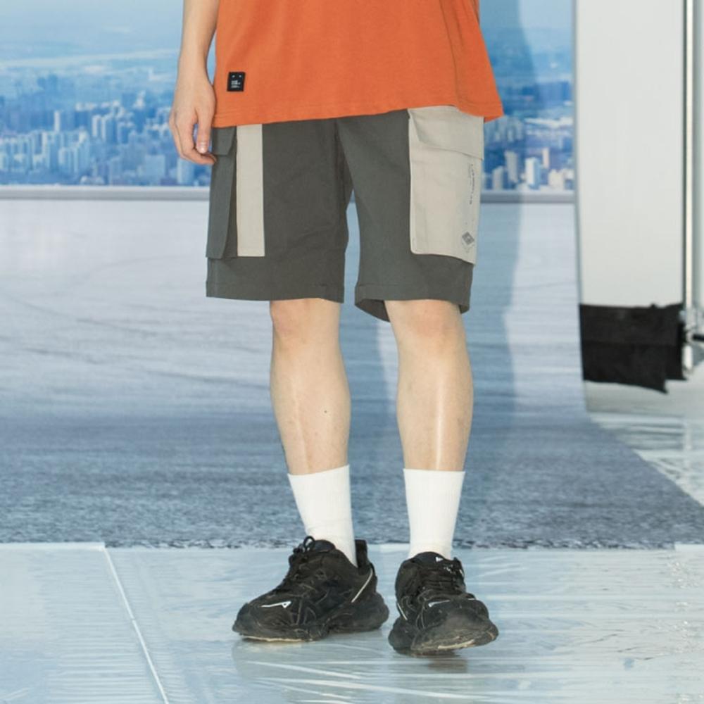 LAKING.LAB-美式撞色口袋工作短褲 product image 1