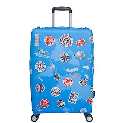 行李箱保護套-旅行-L ODS17B02LTR