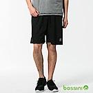 bossini男裝-速乾針織短褲02黑