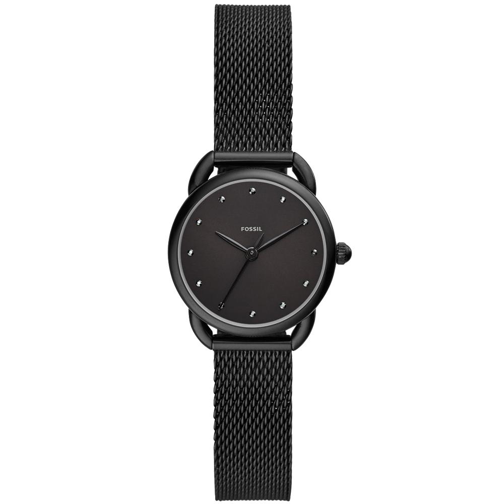 FOSSIL Tailor簡約風尚米蘭帶手錶(ES4489)-黑/26mm