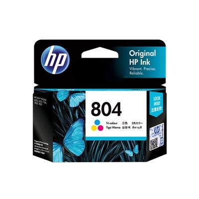 HP  T6N09AA NO.804 彩色 原廠墨水匣 適用HP ENVY Photo 6222/HP Tango/Tango X