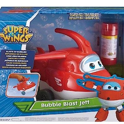 超級飛俠 Super Wings 電動泡泡機 杰特 AL36819 公司貨
