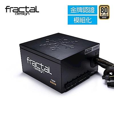 【Fractal Design】 Edison M 750W 金牌 電源供應器