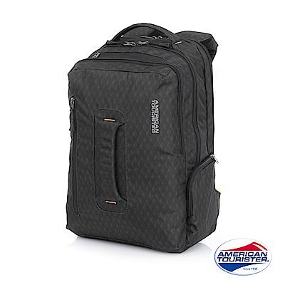 AT美國旅行者 ACRO+ 上鎖式筆電收納後背包 15吋(深灰)