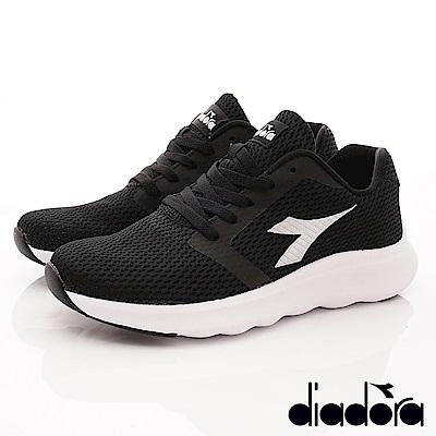 DIADORA-簡約緩震時尚跑鞋款 SI870黑(男段)