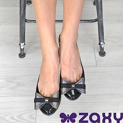 Zaxy 巴西 女 POP CHARM 蕾絲翩翩休閒鞋 (黑色款)