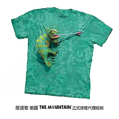 摩達客 美國進口The Mountain 攀岩變色龍 純棉環保短袖T恤