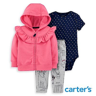 Carter's 甜美荷葉3件組套裝