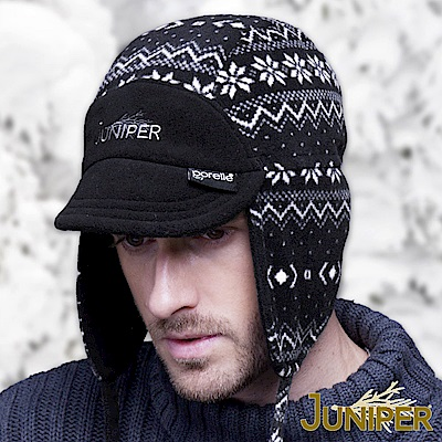 JUNIPER 防水雙面可戴刷毛絨禦寒套頭護耳滑雪冬帽