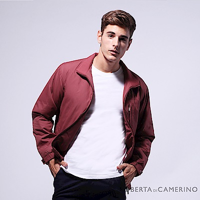 ROBERTA諾貝達 都會機能 防潑水 厚鋪棉夾克外套ROD75-78紅色