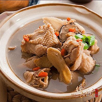 任-饗城麻油雞(1000g/盒)