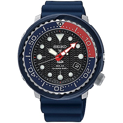 SEIKO精工 Prospex PADI聯名太陽能200米潛水錶(SNE499P1)-藍