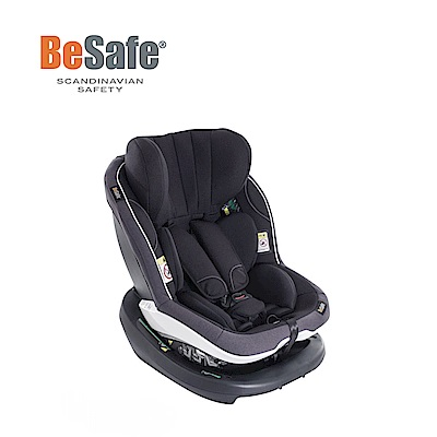 BeSafe 6個月-4歲 ISOfix 雙向兒童成長型汽座 最新I-Size標準(極光黑)