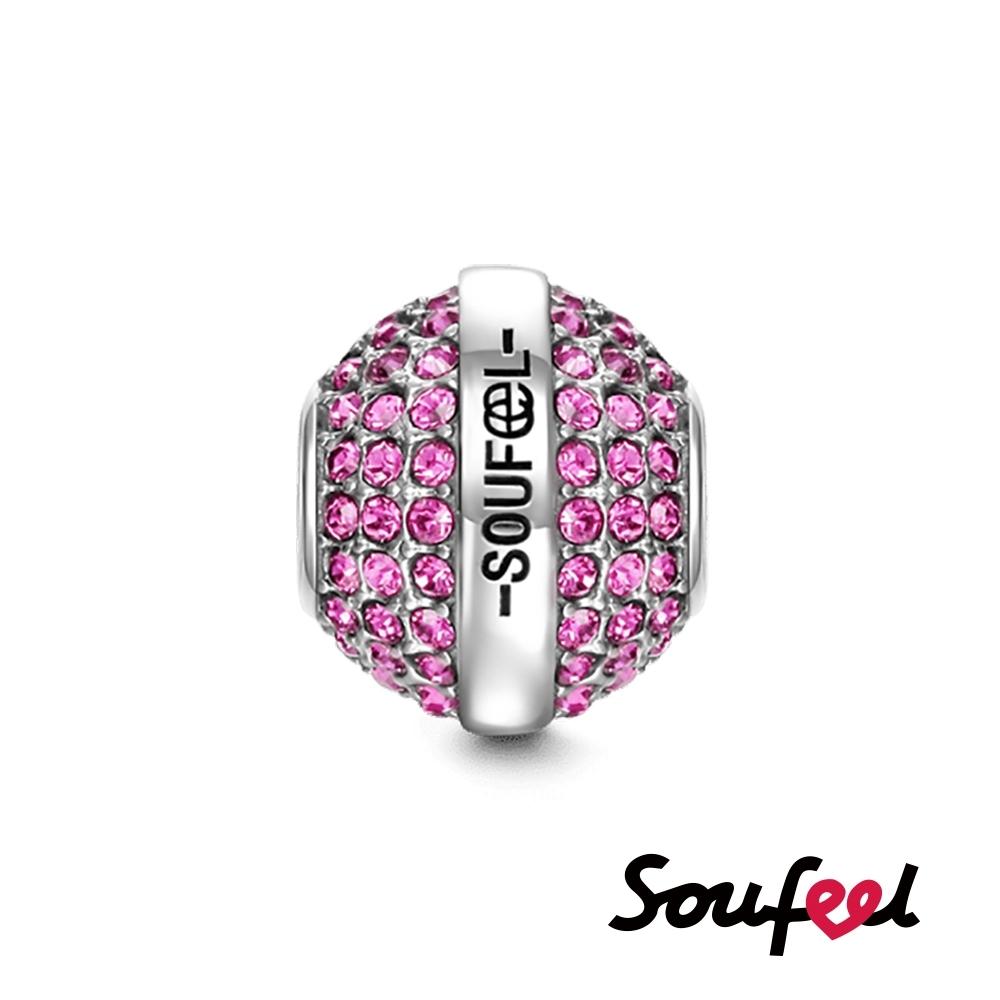 SOUFEEL索菲爾 925純銀珠飾  生日石 七月 串珠