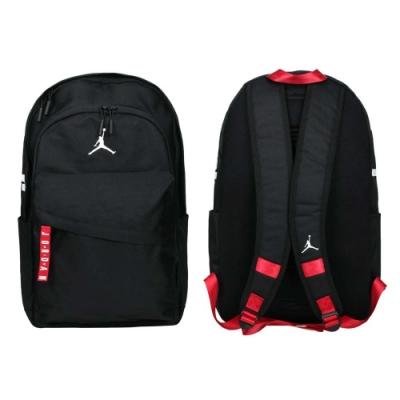 NIKE 大型雙肩包-後背包 肩背包 電腦包 15吋筆電 飛人喬丹 JD2033001AD-001 黑紅白
