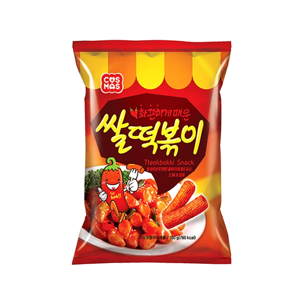 (活動)韓味不二 【韓國原裝】辣年糕餅乾160g