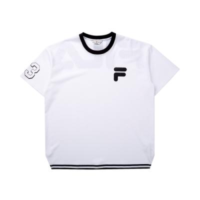FILA #LINEA ITALIA 短袖圓領T恤-白 1TET-5403-WT